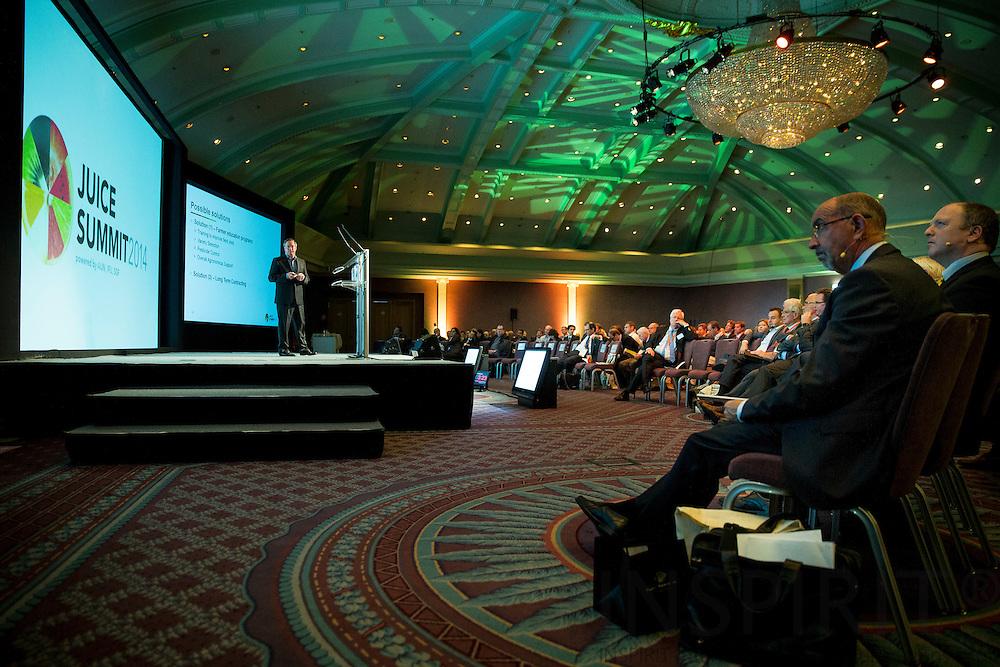 The Juice Summit in Antwerp 15 - 16 October 2014. Photo: Erik Luntang