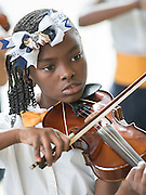 Students from Codwell Elementary School perform during the State of the Schools luncheon at the Hilton of the Americas, February 15, 2017.