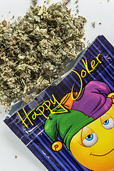 Happy Joker is synthetic cannabis, but also know as a legal high, This is any drug that mimics the effects of cannabis.