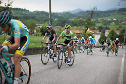 Krista Doebel-Hickok (USA) of Cylance Pro Cycling rides up on the day's main climb during the Giro Rosa 2016 - Stage 1. A 104 km road race from Gaiarine to San Fior, Italy on July 2nd 2016.