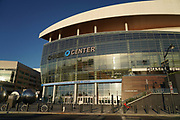 General overall view of the Chase Center, Tuesday, Oct. 8, 2019, in San Francisco. The arena, located in the Mission Bay neighborhood at Third St. and 16th St., opened Sept. 6, 2019 with a seating capacity of 18,064. It is the home of the Golden State Warriors of the National Basketball Association..
