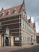 Historic school building Staten-School, Hofstraat, Dordrecht, Netherlands