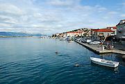 Harbour, island of Ciovo, near Trogir, Croatia