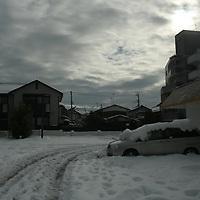 heavy snow inTokyo