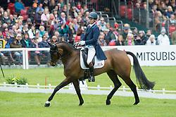 Whittington Francis, (GBR), Hasty Imp<br /> Dressage <br /> Mitsubishi Motors Badminton Horse Trials - Badminton 2015<br /> © Hippo Foto - Jon Stroud<br /> 08/05/15
