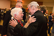 The annual Ignatian Gala in the Hemmingson Ballroom on April 14 honored Bob and Gerri Craves. (Photo by Ryan Sullivan)