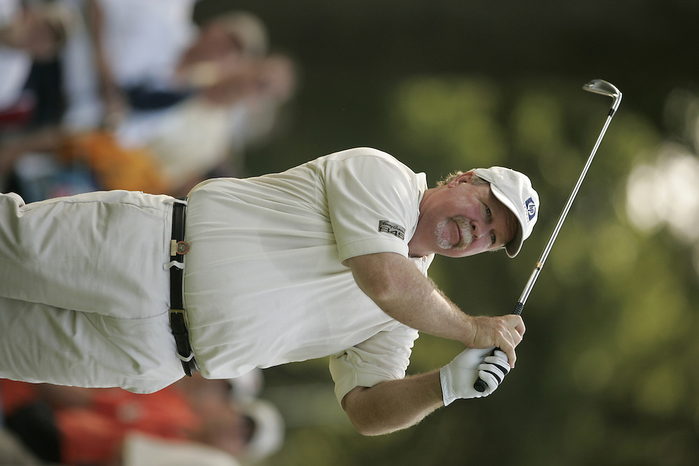 Craig Stadler..2004 United States Senior Open.Third Round.Bellerive Country Club.St. Louis MO.Sunday, August 1 2004..photograph by Darren Carroll