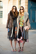 Jen and Des at Schiaparelli SS2017
