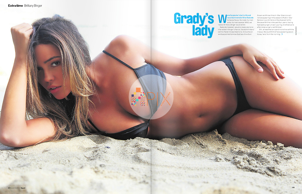 'Extra Time' with Brittany Binger in the latest issue of Sport magazine, UK.  <br />
