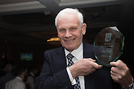 Alec Stuart poses with his Hall of Fame award at Dundee FC hall of fame dinner at Invercarse Hotel, Dundee, Photo: David Young<br /> <br />  - &copy; David Young - www.davidyoungphoto.co.uk - email: davidyoungphoto@gmail.com