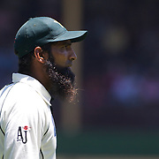 Pakistan Captain Mohammad Yousuf  during the Australia V Pakistan 2nd Cricket Test match at the Sydney Cricket Ground, Sydney, Australia, 6 January 2010. Photo Tim Clayton