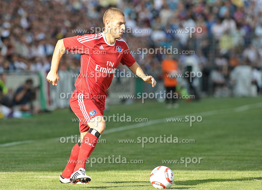 18.07.2010, Lohmühle / Lohmuehle, Lübeck / Luebeck, GER, FBL, Testspiel Hamburger SV vs Juventus Turin, im Bild Mladen Petric (Hamburg #10)   EXPA Pictures © 2010, PhotoCredit: EXPA/ nph/  Frisch+++++ ATTENTION - OUT OF GER +++++ / SPORTIDA PHOTO AGENCY