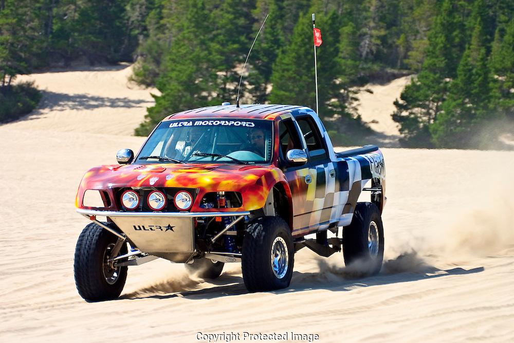 Ultra Motorsports Custom Built Off Road Truck Sandlake Dunes Recreation Area Sandlake Oregon