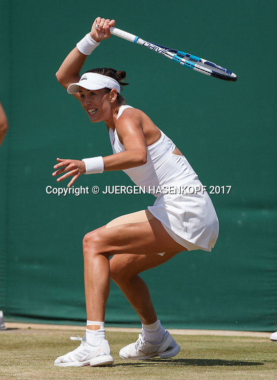 GARBI&Ntilde;E MUGURUZA (ESP)<br /> <br /> Tennis - Wimbledon 2017 - Grand Slam ITF / ATP / WTA -  AELTC - London -  - Great Britain  - 10 July 2017.