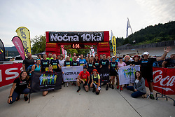 Nocna 10ka 2018, traditional running around Bled's lake, on July 14, 2018 in Bled, Slovenia. Photo by Urban Urbanc / Sportida