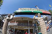 Linnanmäki (Borgbacken) Luna Park. Monorail.