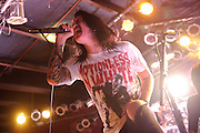 Photos of the band Escape The Fate performing on February 21, 2011 at Pop's in Sauget, IL.