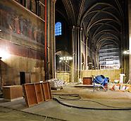 Travaux à Saint-Germain des Prés et Consécration de l'autel