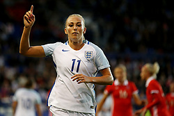 Toni Duggan of England gestures - Mandatory by-line: Matt McNulty/JMP - 19/09/2017 - FOOTBALL - Prenton Park - Birkenhead, United Kingdom - England v Russia - FIFA Women's World Cup Qualifier