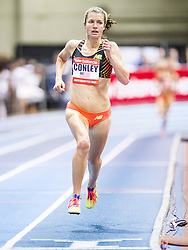 New Balance Indoor Grand Prix Track, womens 2000  meters, Kim Conley wins