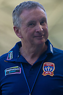 MELBOURNE, VICTORIA - JANUARY 06: Newcastle Jets head coach Ernie Merrick looks on at the Hyundai A-League Round 11 soccer match between Melbourne City FC and Newcastle Jets on at AAMI Park in NSW, Australia 06 January 2019. (Photo by Speed Media/Icon Sportswire)
