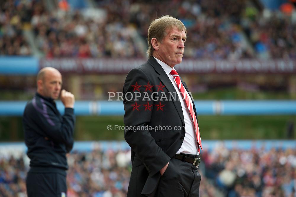 BIRMINGHAM, ENGLAND - Sunday, May 22, 2011: Liverpool's manager Kenny Dalglish during the Premiership match against Aston Villa at Villa Park. (Photo by David Rawcliffe/Propaganda)
