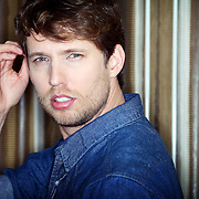 "Jon Heder, native Salemite and man of many sultry poses, has a new animated television series inspired by his seminal movie, ""Napoleon Dynamite."" The actor poses in his hotel room at Portland's Hotel Vintage on Friday, Feb. 17, 2012."