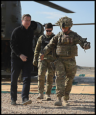 DEC 16 2013 David Cameron in Afghanistan
