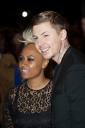 Emeli Sande and Professor Green..Arrivals on the red carpet at the MOBO Awards 2011 at the SECC on October 5, 2011 in Glasgow, Scotland..Pic © Michael Schofield.