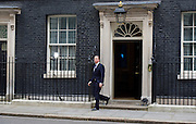 David Cameron travels to Buckingham Palace to inform the Queen of the dissolution of Parliament prior to the general election in May. <br /> <br /> David Cameron <br /> in Downing Street, London, Great Britain <br /> 30th March 2015 <br /> <br /> Photograph by Elliott Franks