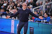 DESCRIZIONE : Trento Lega A 2015-16 Dolomiti Energia Trentino - Betaland Capo d Orlando<br /> GIOCATORE : Giulio Griccioli<br /> CATEGORIA : Ritratto Delusione<br /> SQUADRA : Dolomiti Energia Trentino -  Betaland Capo d Orlando<br /> EVENTO : Campionato Lega A 2015-2016 <br /> GARA : Dolomiti Energia Trentino - Betaland Capo d Orlando<br /> DATA : 23/12/2015 <br /> SPORT : Pallacanestro <br /> AUTORE : Agenzia Ciamillo-Castoria/Mgregolin<br /> Galleria : Lega Basket A 2015-2016 <br /> Fotonotizia : Trento Lega A 2015-16 Dolomiti Energia Trentino - Betaland Capo d Orlando
