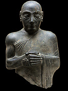 Gudéa. 2141 BC, Gudea was a ruler (ensi) of the city of Lagash in Southern Mesopotamia who ruled ca. 2144 - 2124 BC. He probably did not come from the city, but had married Ninalla, daughter of the ruler Urbaba (2164 - 2144 BC) of Lagash, thus gaining entrance to the royal house of Lagash. He was succeeded by his son Ur-Ningirsu.