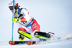 "SIMONET Sandro (SUI) competes during the Audi FIS Alpine Ski World Cup ""Snow Queen Trophy"" Men's Slalom, on January 5, 2020 in Sljeme, Zagreb, Croatia. Photo by Sinisa Kanizaj / Sportida"