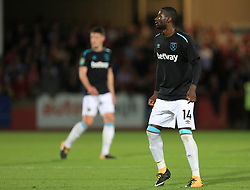 Pedro Obiang of West Ham United - Mandatory by-line: Paul Roberts/JMP - 23/08/2017 - FOOTBALL - LCI Rail Stadium - Cheltenham, England - Cheltenham Town v West Ham United - Carabao Cup