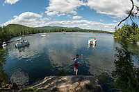 Squam Lake, New Hampshire.  © Karen Bobotas Photographer