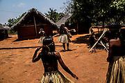 Xerente tribesmen  in the village of Tocantinia, Brazil, Thursday, 58, 2015. (Hilaea Media/ Dado Galdieri)