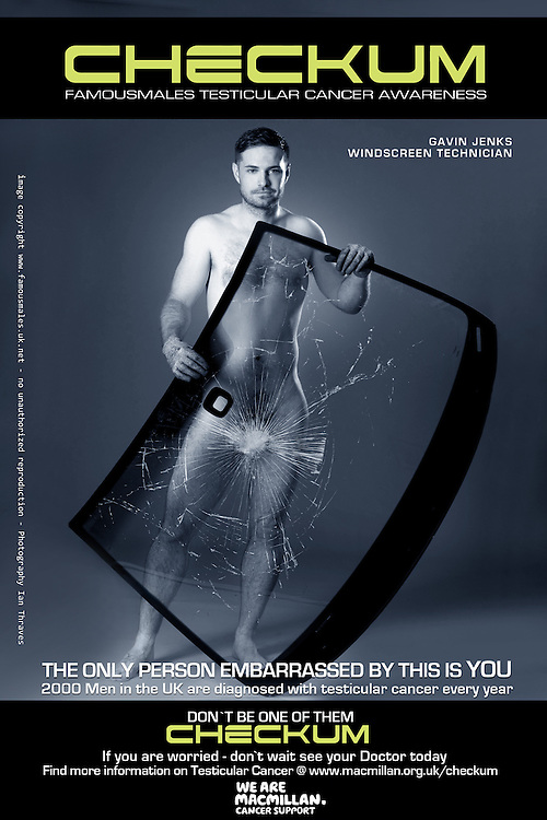 Gavin Jenks (Advertising Celebrity) - Checkum Testicular Cancer Awareness Campaign