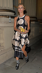 Laura Bailey attends The London 2014 Stella McCartney Green Carpet Collection during London Fashion Week at The Royal British Institute in London, UK. 14/09/2014<br />BYLINE MUST READ : GOTCHAIMAGES.COM<br /><br />Copyright by © Gotcha Images Ltd. All rights reserved.<br />Usage of this image is conditional upon the acceptance <br />of Gotcha Images Ltd, terms and conditions available at<br />www.gotchaimages.com