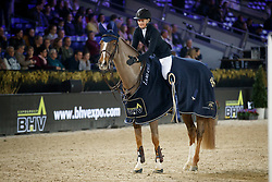 Andersson Petronella, SWE, Mouse<br /> Vlaanderens Kerstjumping<br /> Memorial Eric Wauters<br /> Jumping Mechelen 2017<br /> © Hippo Foto - Dirk Caremans<br /> 29/12/2017