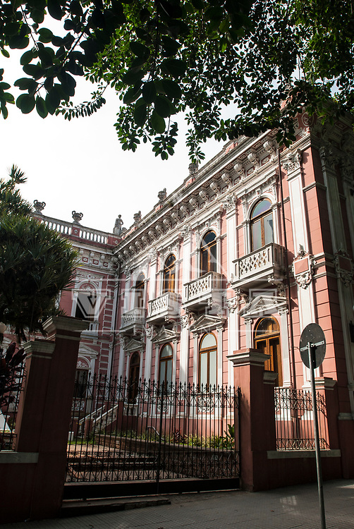 Palácio Cruz e Souza, Museu Historico de Santa Catarina, Historic Museum of Santa Catarina, Florianópolis, Santa Catarina, Brasil. Foto de Zé Paiva / Vista Imagens