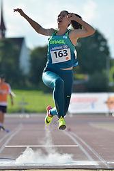 06/08/2017; Ferreira, Gabriela, T12, BRA at 2017 World Para Athletics Junior Championships, Nottwil, Switzerland