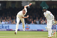 Stuart Broad of England on DAy Two of the NatWest Test Match match at Lord's, London<br /> Picture by Simon Dael/Focus Images Ltd 07866 555979<br /> 25/05/2018