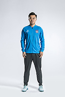 **EXCLUSIVE**Portrait of Chinese soccer player Bai Yuefeng of Tianjin TEDA F.C. for the 2018 Chinese Football Association Super League, in Tianjin, China, 28 February 2018.
