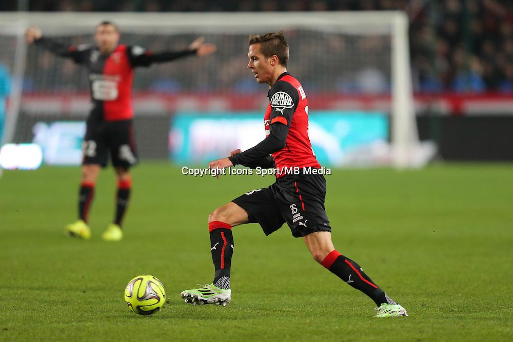 Anders KONRADSEN - 06.12.2014 - Rennes / Montpellier - 17eme journee de Ligue 1 -<br />Photo : Vincent Michel / Icon Sport
