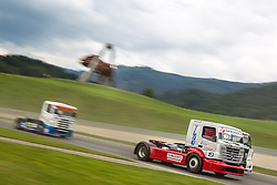 06.07.2013, Red Bull Ring, Spielberg, AUT, Truck Race Trophy, Renntag 1, im Bild Dominique Orsini, (FRA, Dominique Orsini, #19) // during the Truck Race Trophy 2013 at the Red Bull Ring in Spielberg, Austria, 2013/07/06, EXPA Pictures © 2013, PhotoCredit: EXPA/ M.Kuhnke