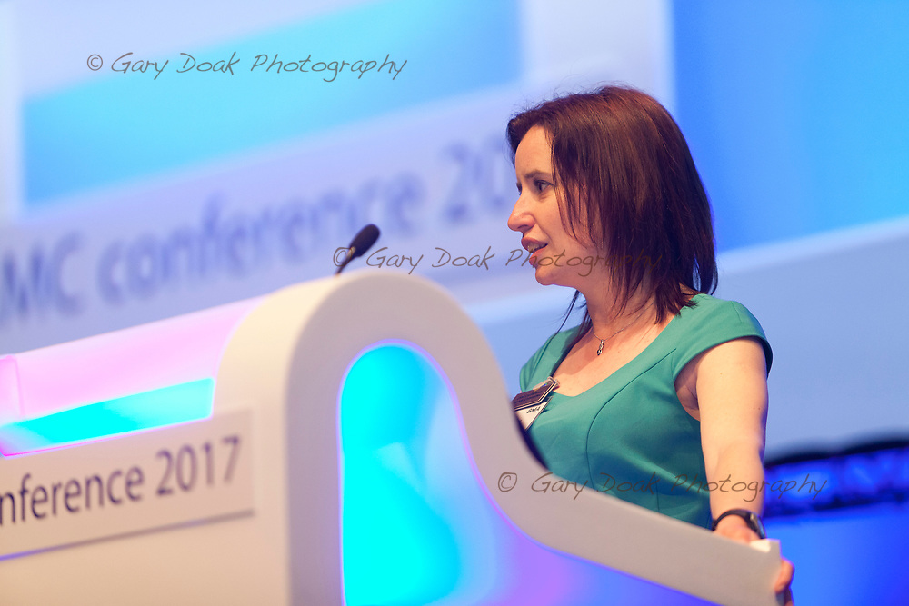 Rachel McMahon<br /> BMA LMC's Conference<br /> EICC, Edinburgh<br /> <br /> 18th May 2017<br /> <br /> Picture by Gary Doak