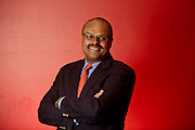 Editorial photography shoot of University of Arkansas dean of the College of Business, Dr. Eli Jones in Fayetteville, Arkansas.