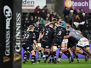 Photographer Mike Jones/Replay Images<br /> <br /> Guinness PRO14 Round Round 15 - Ospreys v Southern Kings - Friday 16th February 2018 - Liberty Stadium - Swansea<br /> <br /> World Copyright © Replay Images . All rights reserved. info@replayimages.co.uk - http://replayimages.co.uk