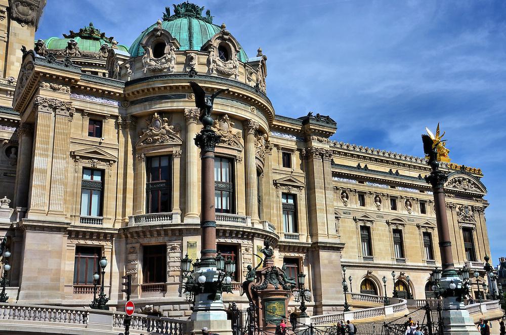 palais garnier opera house facade in paris france encircle photos. Black Bedroom Furniture Sets. Home Design Ideas
