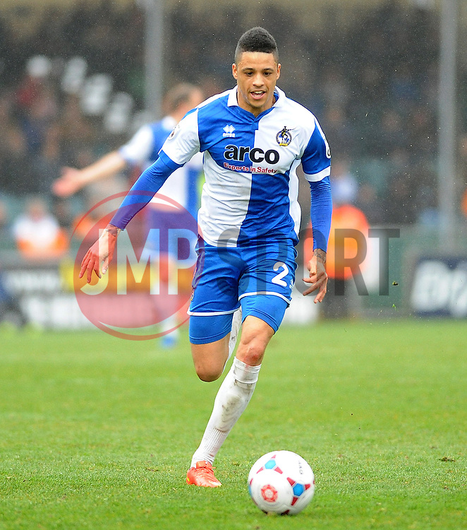 Bristol Rovers' Daniel Leadbitter- Photo mandatory by-line: Neil Brookman/JMP - Mobile: 07966 386802 - 03/04/2015 - SPORT - Football - Bristol - Memorial Stadium - Bristol Rovers v Chester - Vanarama Football Conference